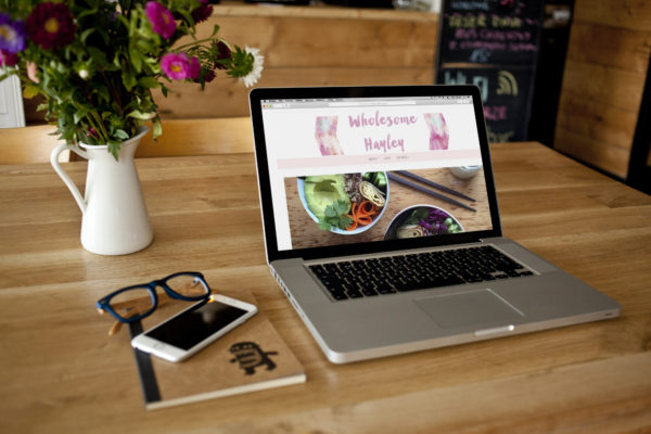 Food Blog- Web Design